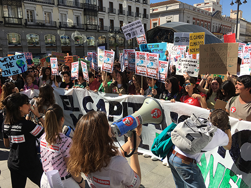 #15MClimático: Sin Planeta no hay futuro